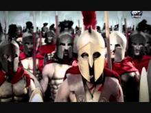 Непобедимый воин. Спартанец против ниндзя, часть 1