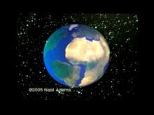 Расширение земли.